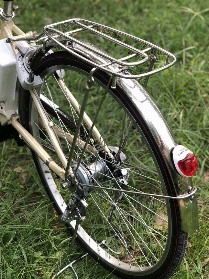 Bán xe đạp điện trợ lực tay ga hàng Nhật bãi cũ giá rẻ Tp HCM – Mã: X17 3