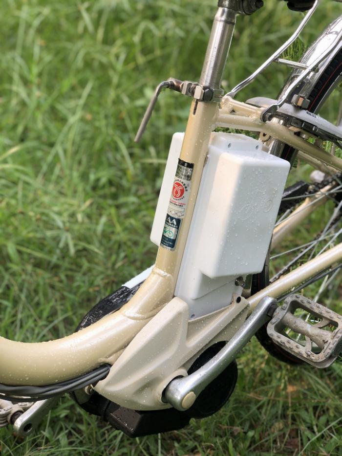 Bán xe đạp điện trợ lực tay ga hàng Nhật bãi cũ giá rẻ Tp HCM – Mã: X17 5