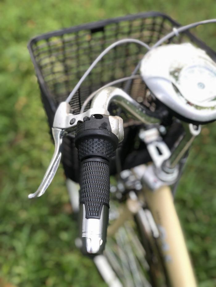 Bán xe đạp điện trợ lực tay ga hàng Nhật bãi cũ giá rẻ Tp HCM – Mã: X17 8