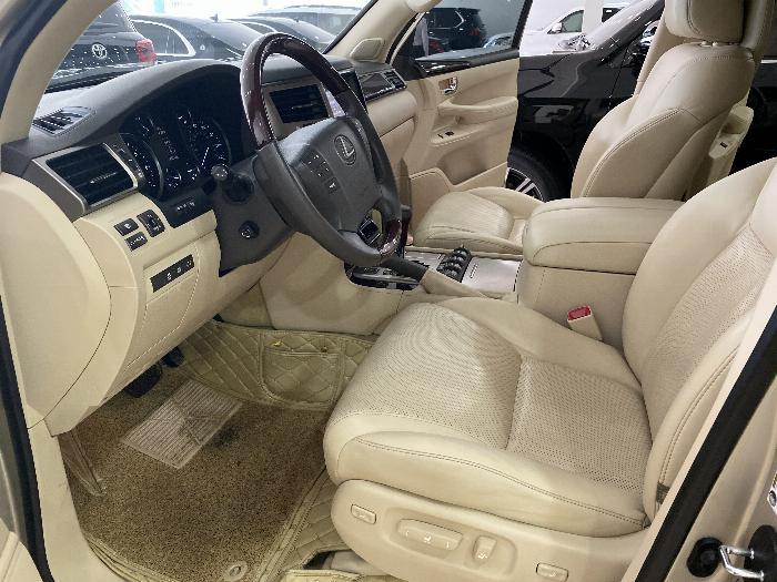 Lexus LX570 nhập Mỹ,màu vàng,nội thất kem,đăng ký 2016,xe siêu đẹp,biển Hà nội, 3