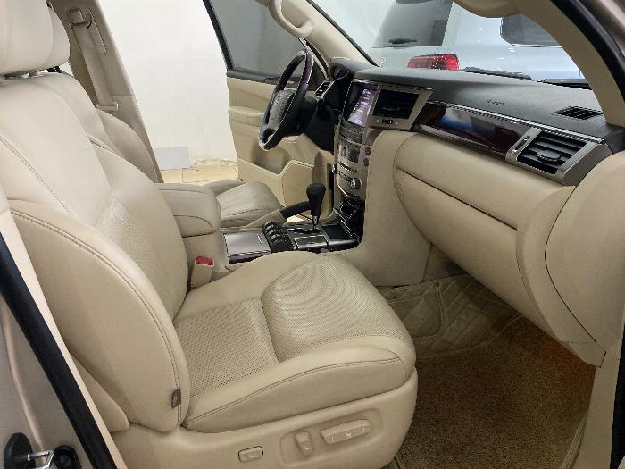 Lexus LX570 nhập Mỹ,màu vàng,nội thất kem,đăng ký 2016,xe siêu đẹp,biển Hà nội, 7
