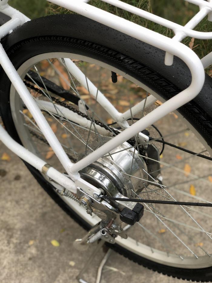 Bán xe đạp điện trợ lực tay ga hàng Nhật bãi cũ giá rẻ Tp HCM – Mã: X29