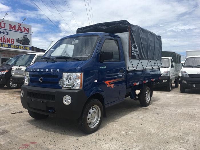 Xe tải nhỏ - DongBen 810kg - Thùng bạt - Hỗ trợ trả góp