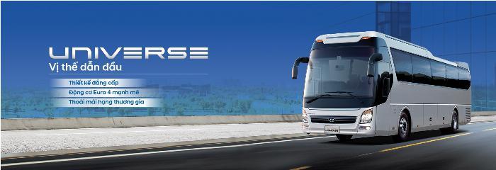 Hyundai Universe sản xuất năm 2019 Số tay (số sàn) Dầu diesel