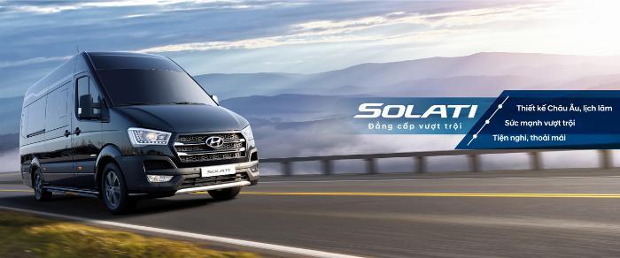 Chuyên bán xe khách Hyundai SOLATI