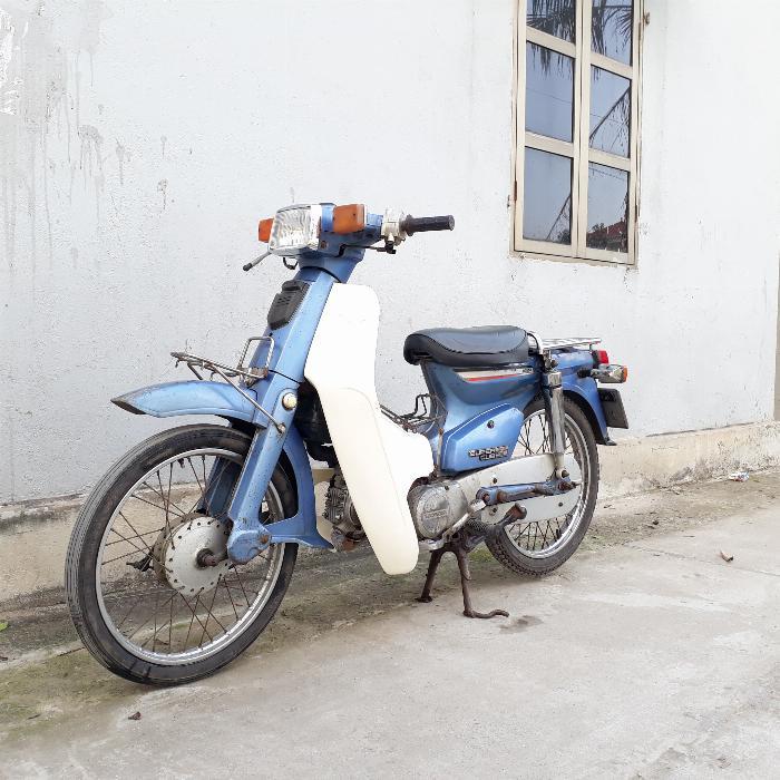 Cub 82 Honda Nhật 50cc không đề biển 4 số Hà Nội 29