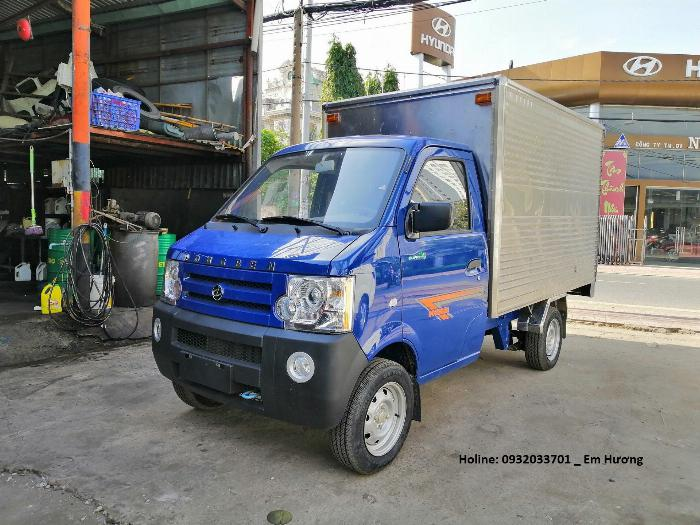 Xe Dongben 870kg thùng kín - KM 100% trước bạ - Vay cao