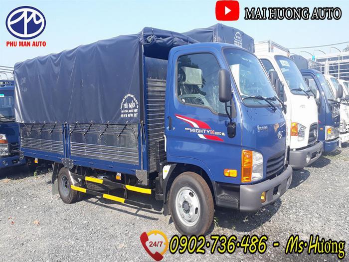 Xe tải Hyundai 2.5 tấn N250SL- thùng bạt  Model 2020
