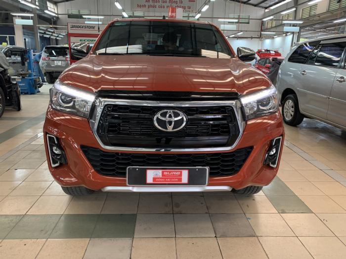 Toyota Hilux 2.8G AT, bảng Full, 2019 - nhập khẩu Thái, giá thương lượng tốt 0