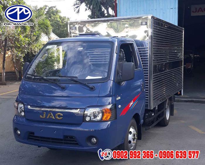 Cần thanh lý gấp xe tải jac 990kg có sẵn, giá cực rẻ - bán xe tải jac x99 990kg