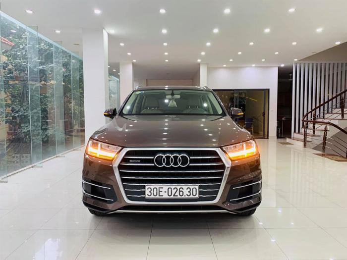 Audi Q7 sản xuất năm 2015 Số tự động Động cơ Xăng