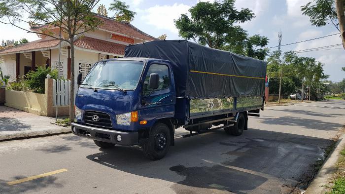 Hyundai New Mighty 110SL Mui Bat, 2019, thùng dài 5m76 3