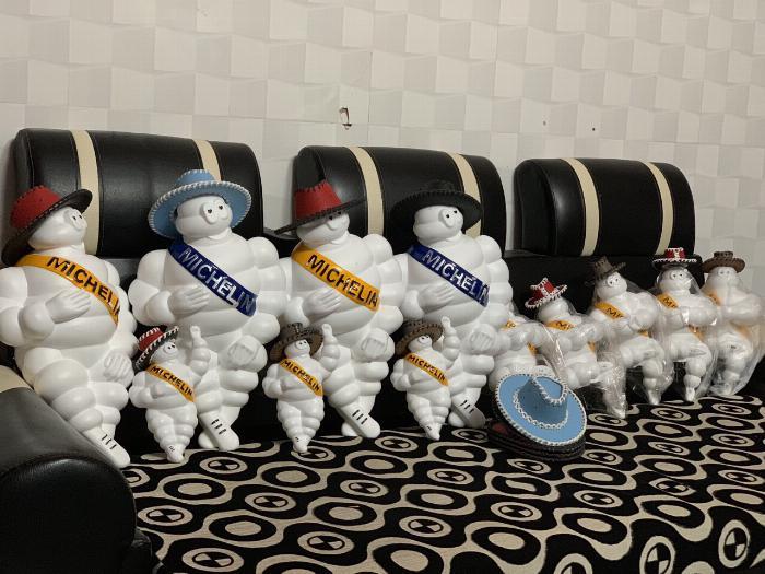 Đèn Michelin - Búp bê Michelin - Michelin Man 4