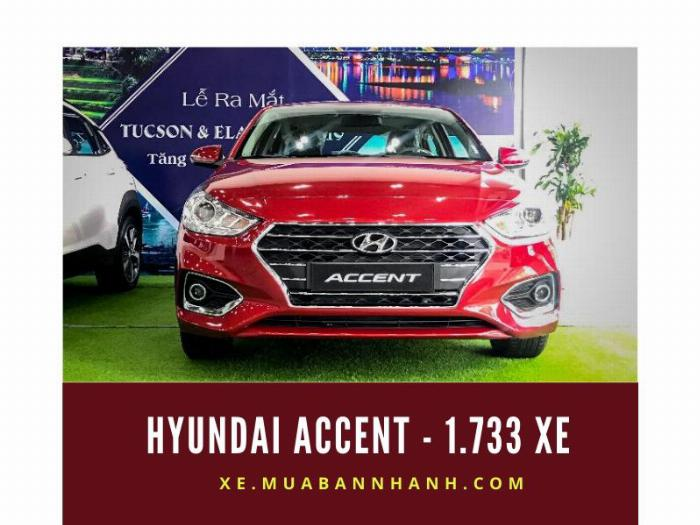 Hyundai Accent - 1.733 xe