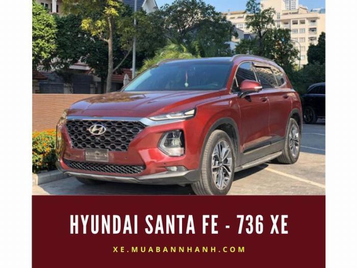 Hyundai Santa Fe - 736 xe