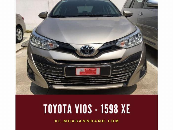 Toyota Vios - 1.598 xe