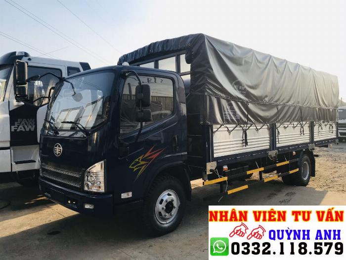 Xe tải FAW thùng dài 6.2 mét 1