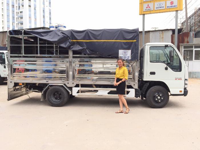 Xe tải Isuzu QKR77HE4 tải 1,9 tấn và 2,9 tấn, thùng mui bạt dài 4m3 1