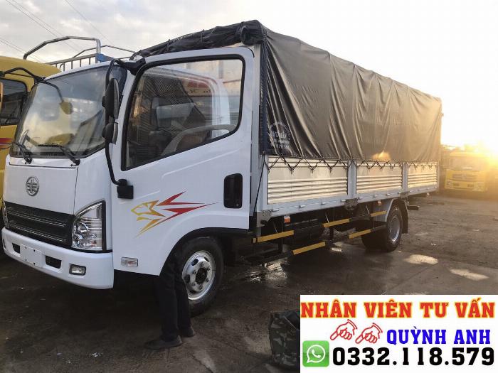 Xe tải FAW thùng dài 6.2 mét 2