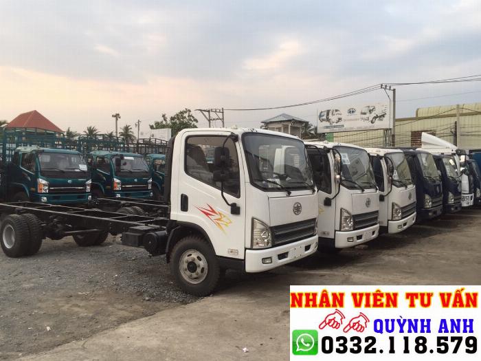 Xe tải FAW thùng dài 6.2 mét 0