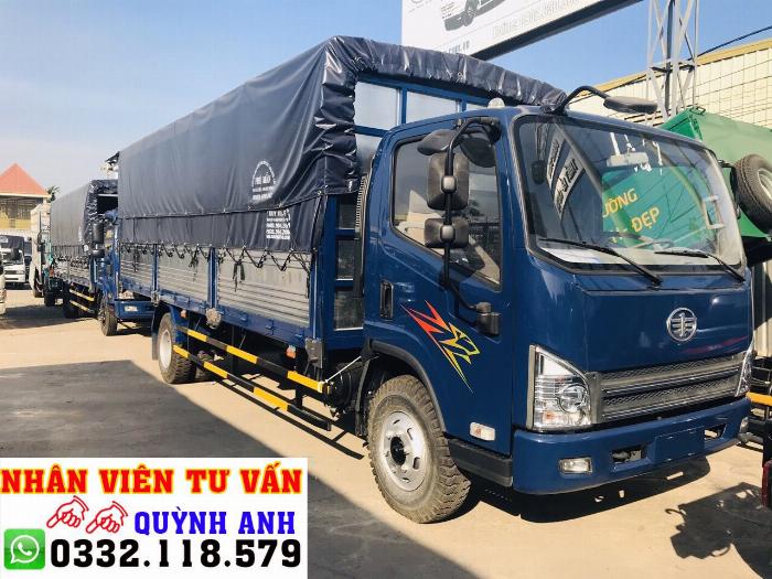Xe tải FAW thùng dài 6.2 mét 3