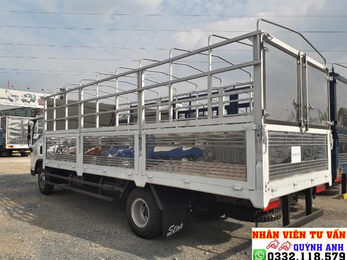 Xe tải 8 tấn thùng dài 6.2 mét máy hyundai 4