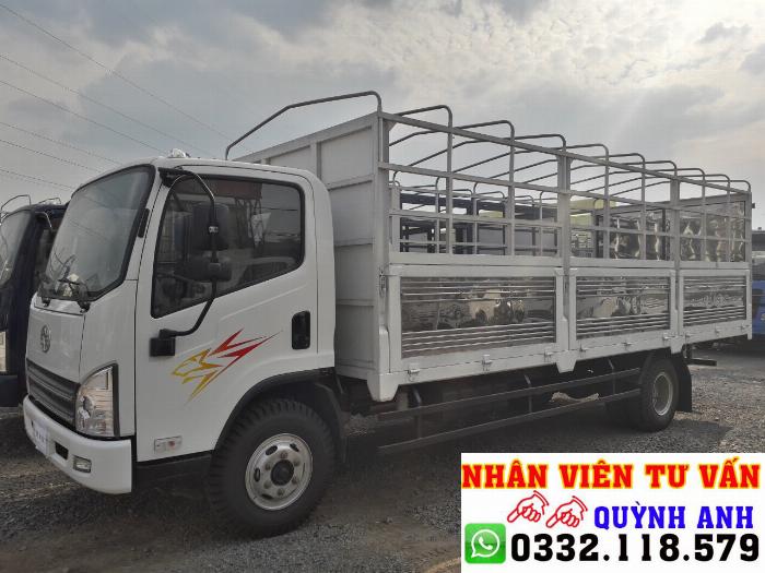Xe tải 8 tấn thùng dài 6.2 mét máy hyundai 5