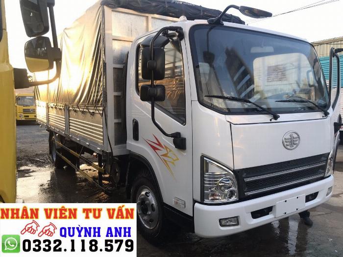 Xe tải FAW thùng dài 6.2 mét 7
