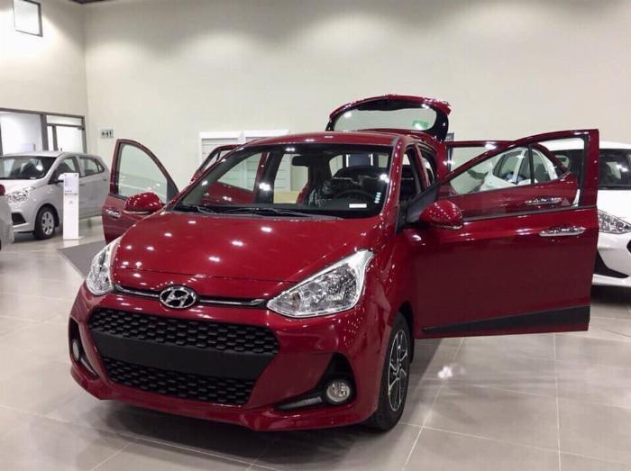 Hyundai i10 sản xuất năm 2016 Số tay (số sàn) Động cơ Xăng