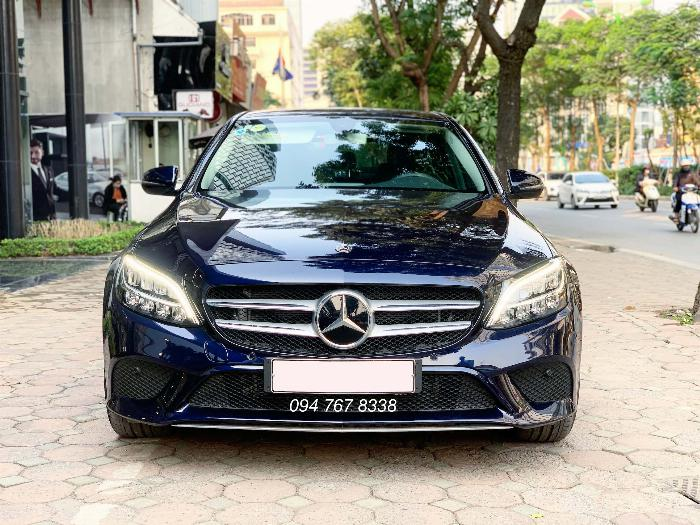 Bán Mercedes C200 2020 màu xanh siêu lướt giá tốt 0