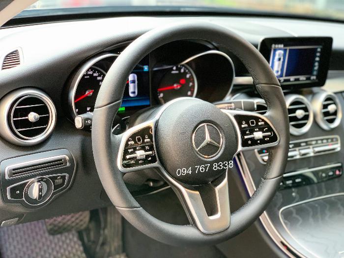 Bán Mercedes C200 2020 màu xanh siêu lướt giá tốt 5