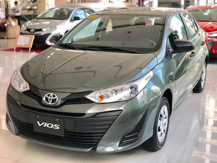 Nhà máy Toyota Vios 2020 Giá niêm yết 5