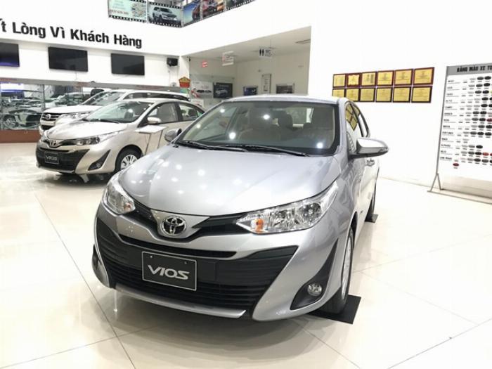 Nhà máy Toyota Vios 2020 Giá niêm yết 6