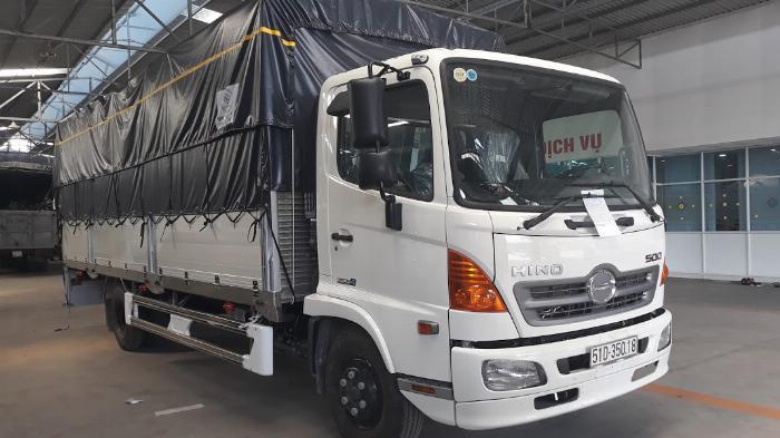 Xe tải Hino FC Tải 6 Tấn ( thùng bửng nhôm), Trả trước 300 triệu 5