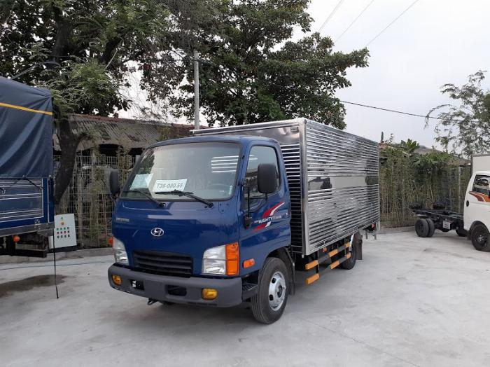 Xe tải Hyundai N250SL. tải 2,4 tấn, thùng dài 4m3 6