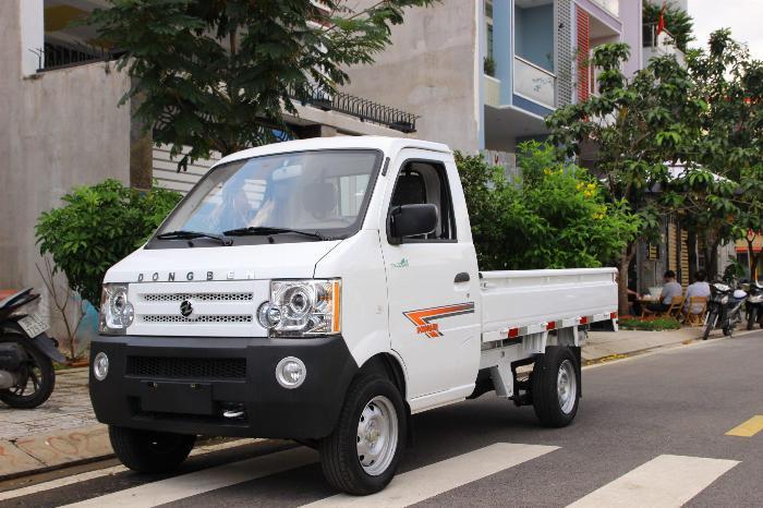 DongBen 870kg Thùng Lửng sản xuất năm 2019 Số tay (số sàn) Xe tải động cơ Xăng
