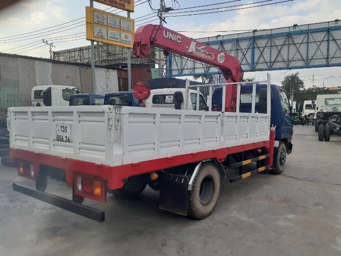 Giá xe tải Hyundai New mighty 110S tải 7 tấn gắn cẩu UNIC UR-V344 3 Tấn 4 Khúc 6