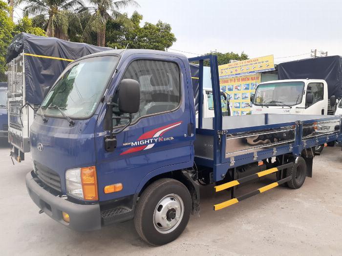 Giá Xe Tải Hyundai 2,4 tấn (New mighty N250SL) Thùng Lửng. Mua xe trả góp 70 - 90% 0