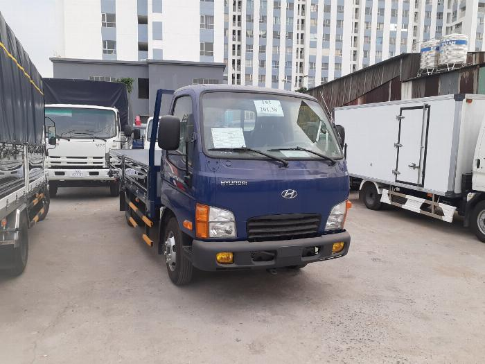Giá Xe Tải Hyundai 2,4 tấn (New mighty N250SL) Thùng Lửng. Mua xe trả góp 70 - 90% 2