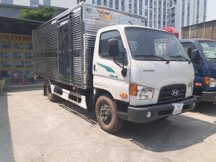 Giá Xe Tải Hyundai 7 Tấn ( New Mighty 110SP. Thùng Kín, Hổ trợ 70 - 90% 1