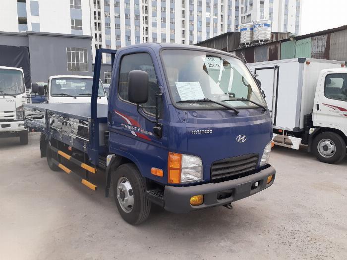 Giá Xe Tải Hyundai 2,4 tấn (New mighty N250SL) Thùng Lửng. Mua xe trả góp 70 - 90% 6