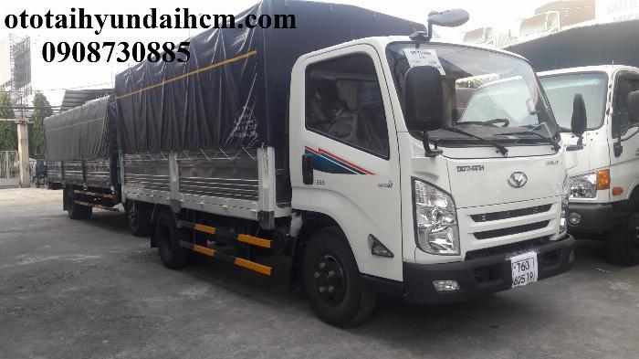 xe tải iz65 thùng bạt 3.5 tấn mới 100%