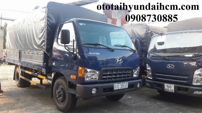xe tải hyundai 8 tấn thùng bạt mới 100%