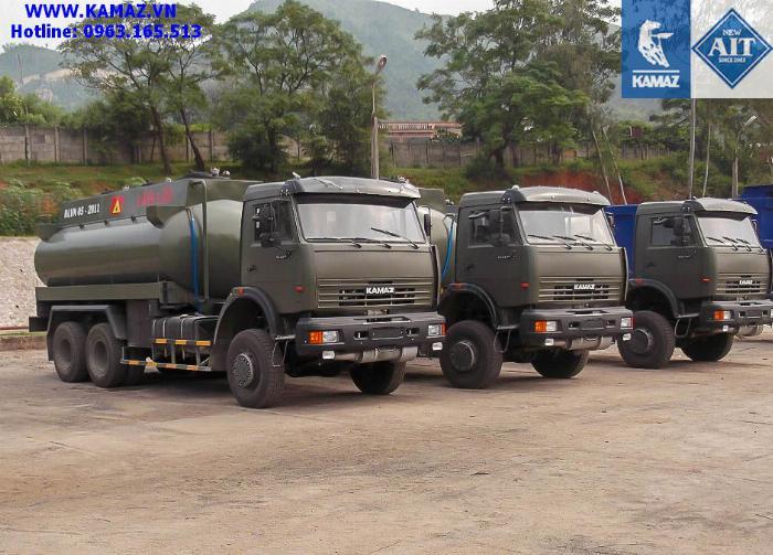 XE BỒN XĂNG DẦU KAMAZ 53228 3 CẦU THỂ TÍCH 18 KHỐI, xe bồn xăng dầu kamaz 3 chân cầu thể tích 18 khối, xe bồn xăng dầu kamaz 1