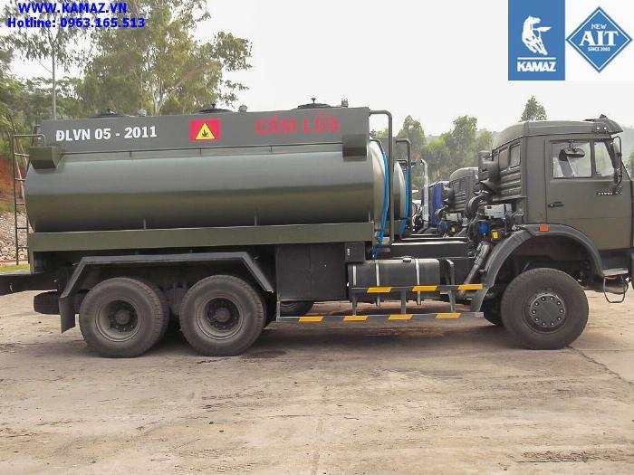 XE BỒN XĂNG DẦU KAMAZ 53228 3 CẦU THỂ TÍCH 18 KHỐI, xe bồn xăng dầu kamaz 3 chân cầu thể tích 18 khối, xe bồn xăng dầu kamaz 0