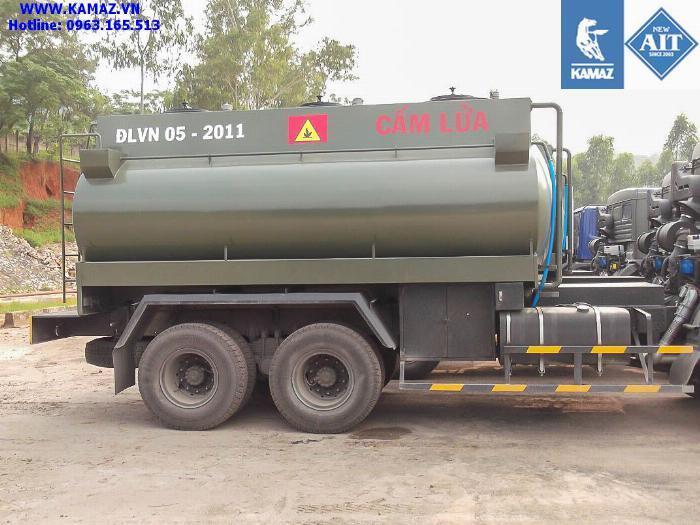 XE BỒN XĂNG DẦU KAMAZ 53228 3 CẦU THỂ TÍCH 18 KHỐI, xe bồn xăng dầu kamaz 3 chân cầu thể tích 18 khối, xe bồn xăng dầu kamaz 2
