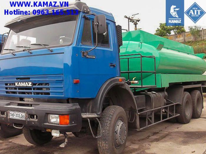 XE BỒN XĂNG DẦU KAMAZ 53228 3 CẦU THỂ TÍCH 18 KHỐI, xe bồn xăng dầu kamaz 3 chân cầu thể tích 18 khối, xe bồn xăng dầu kamaz 5