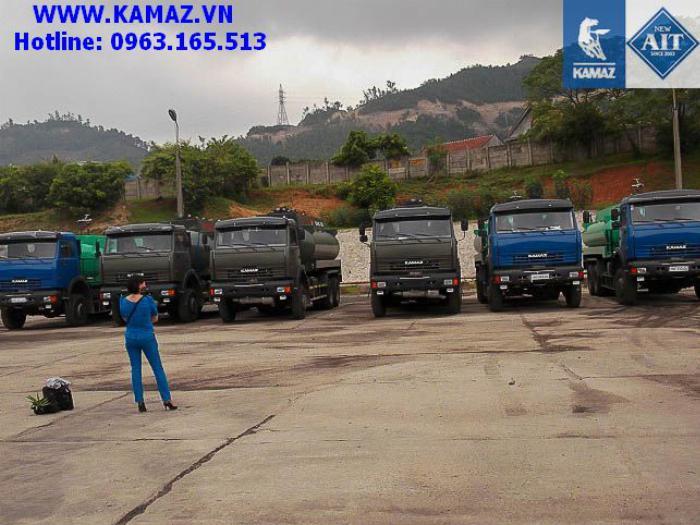 XE BỒN XĂNG DẦU KAMAZ 53228 3 CẦU THỂ TÍCH 18 KHỐI, xe bồn xăng dầu kamaz 3 chân cầu thể tích 18 khối, xe bồn xăng dầu kamaz 6