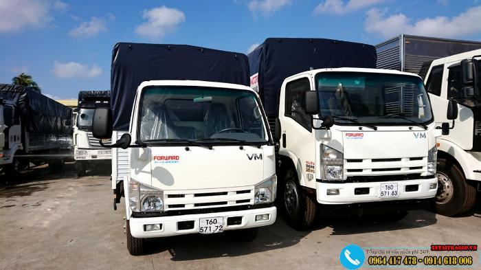 Xe ISUZU 1T9 thùng dài 6m2,rộng 2m giá tốt 1