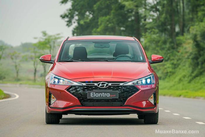 Hyundai Elantra 2020, đủ màu giao ngay 8